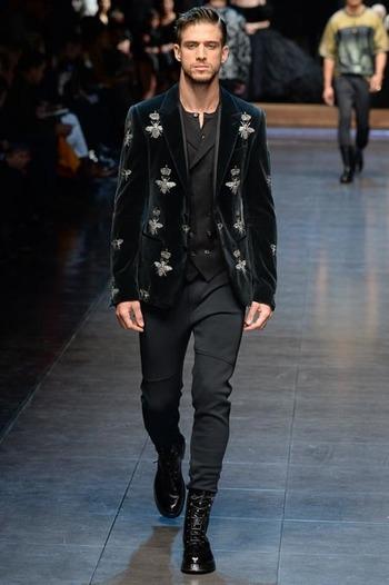 Dolce & Gabbana Fall 2015 Menswear Collection Style.com