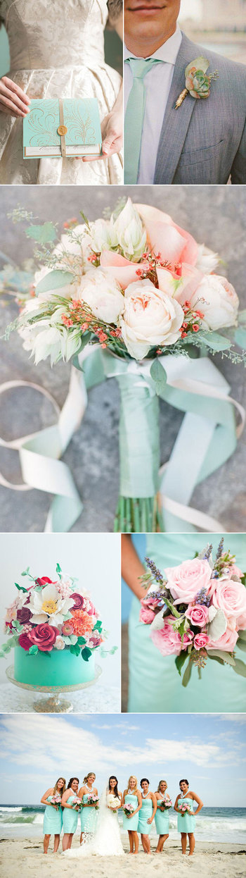 Wedding Color Inspiration for Spa   | Bows-N-Ties.com
