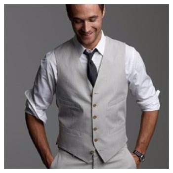 Light grey suit - wedding casual