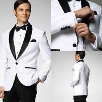 Mens White Tuxedo | eBay