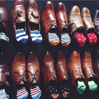Man in Pink | Incredible shoe & No-show sock collection