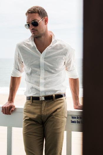 #forearms White shirt