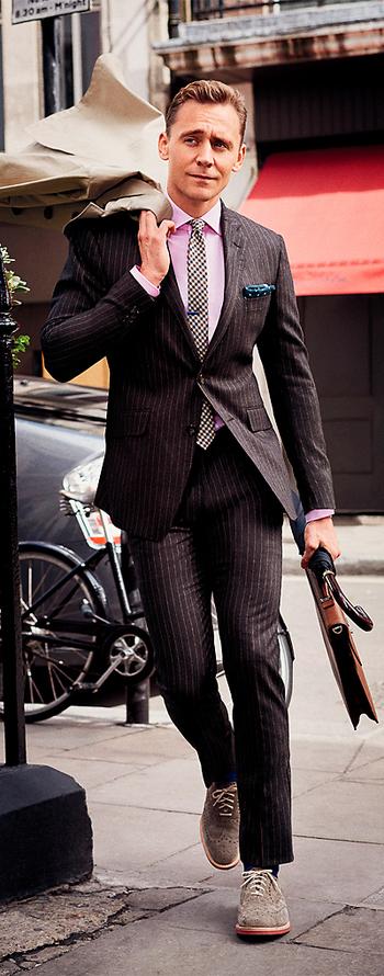 GQ Magazine. Tom Hiddleston Wears the Sharpest