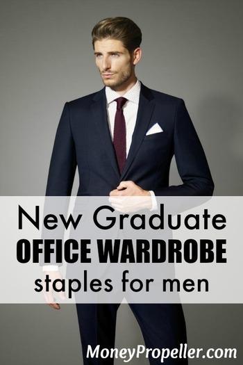 New Graduate Office Wardrobe Staples (Men)