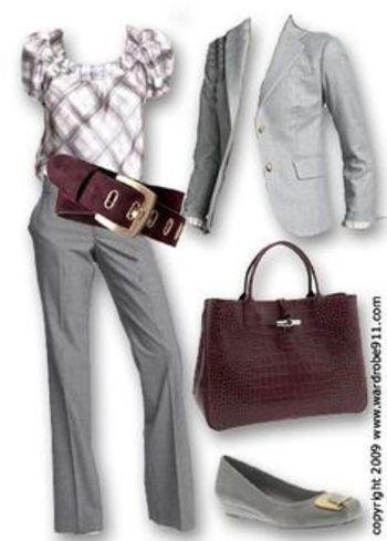 plussize women's business suits - Bobbiestyle