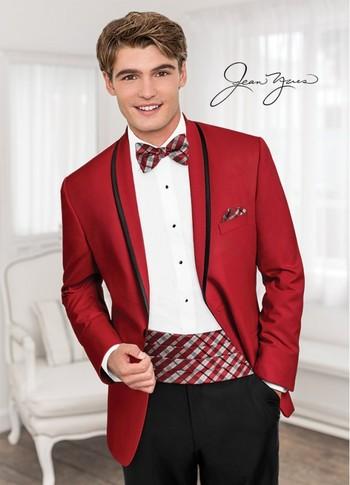 Red 'Calypso' Tuxedo