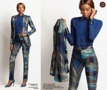 """Ankara Fashion and Style Vol (6) With Brand New """"Vida"""" Collection from Ghanian Brand Totally Ethnik 