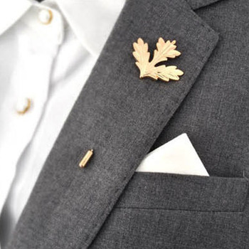 Popular Men's Corsage Boutonniere Retro Male Maple Brooch Collar Pin Brand Accessories Trendy Suits Shirts Lapel Pin Brooches-in Brooches from Jewelry on Aliexpress.com | Alibaba Group
