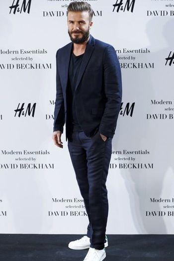 David Beckham: all his best outfits