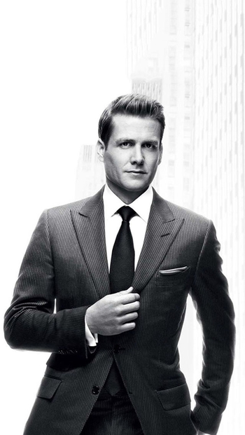 Harvey Spector, form the TV show Suits,