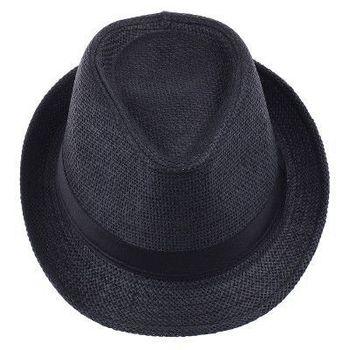 Fashion Womens Mens  Fedora Trilby Gangster Panama Hat