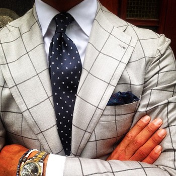 """""""@therealvincentfrederiks wearing a Viola Milano """"Grey Floral"""" silk tie... Jacket by @pinoluciano & @"""