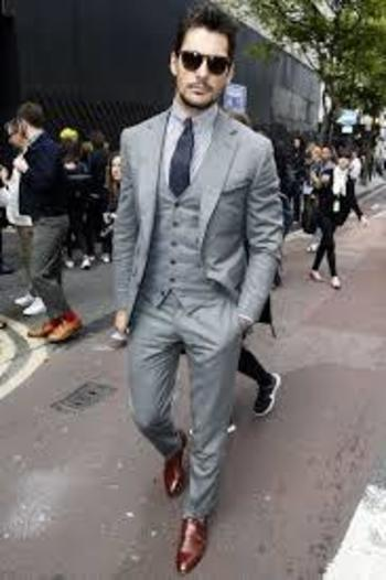 Image result for men smart casual white