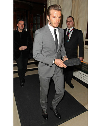David Beckham's 25 Most Stylish Looks