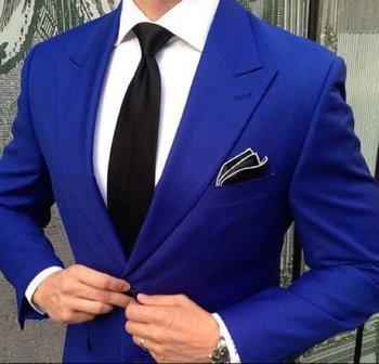 Royal Blue Blazer #man #man-suit #fashion #trends