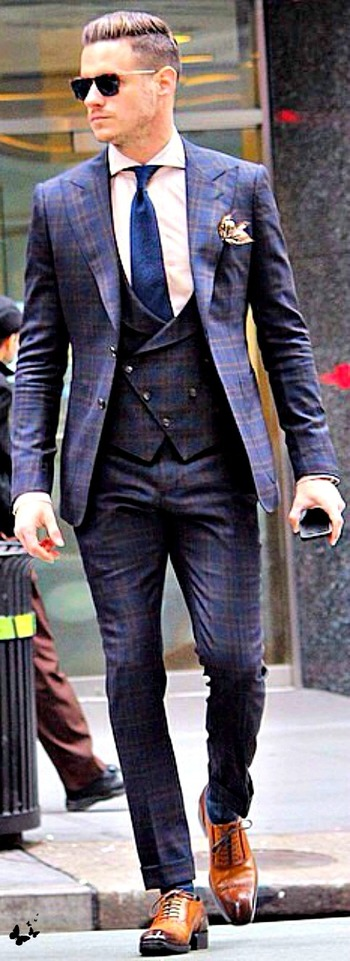 this suit is the epitome of class,