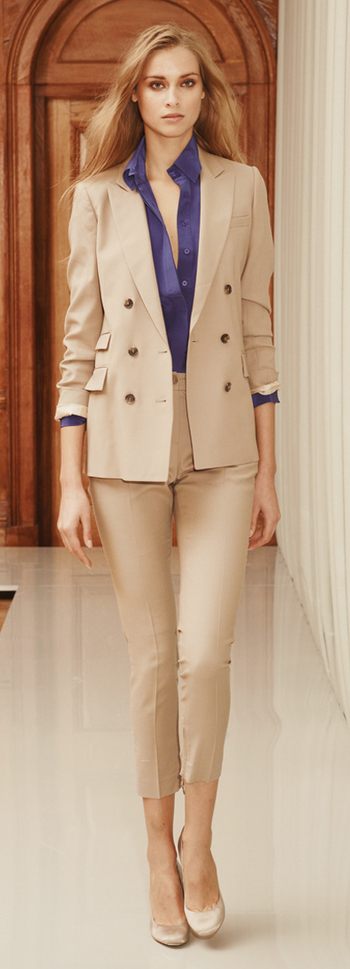 Reiss: clean updated traditional look with the