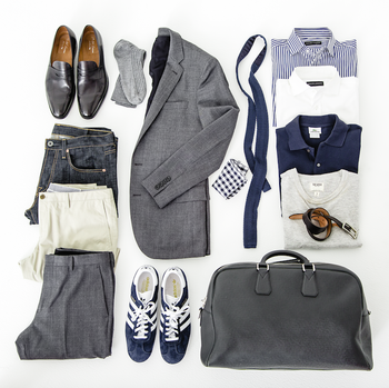 Video: The 48-Hour Travel Wardrobe: GQ Rules 2013