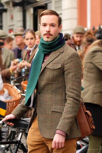 Tweed Run – the gentlemen   Preposity Preposity
