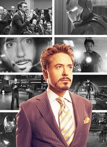 Tony Stark that's some pretty photoshopping