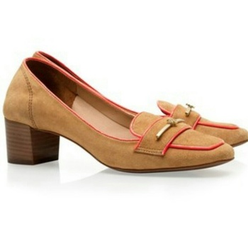 Tory Burch Nora Mid Heel Loafer