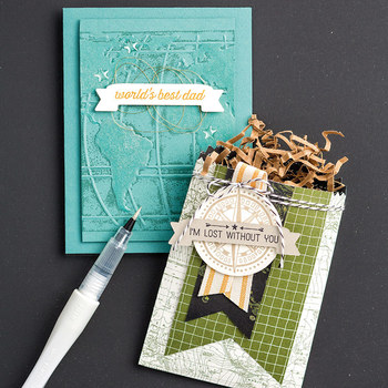 Going Global Clear-Mount Stamp Set by Stampin' Up!