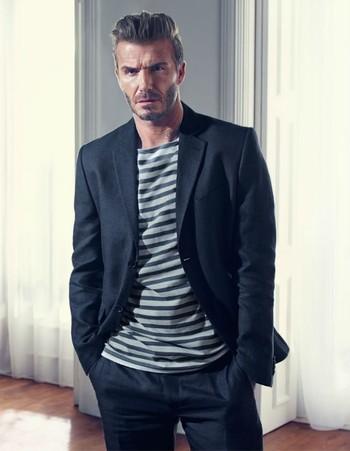 David Beckham e H&M Retomam Parceria para Primavera Verão 2016