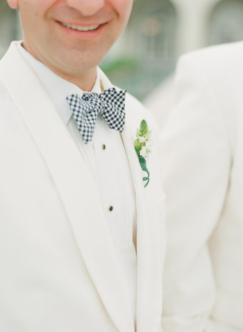 Personalized Style Details For The Groom
