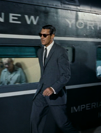 #travelcolorfully cary grant in 'north by northwest' / 1959