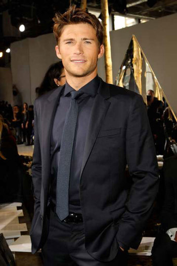 Scott Eastwood. The longest ride isn't even out yet, but after seeing him... It's my new favorite mov