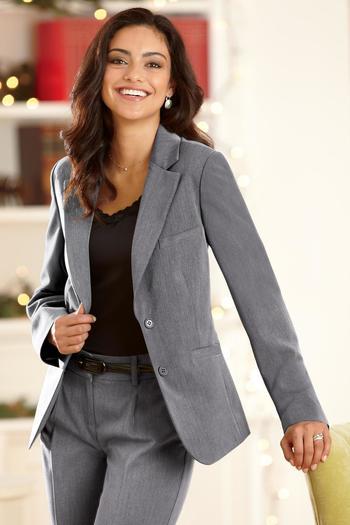 Womens Suiting Separates Blazer