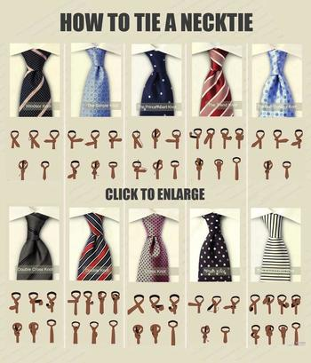 Different neck tie knots and How to knot them | Raddest Men's Fashion Looks On The Internet: http://w