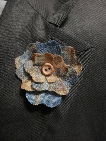 The Shy Stylist - a men's style blog: DIY: Lapel Flower