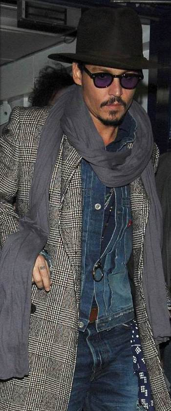 ZUNSHIKO: Johnny Depp's Cool Style