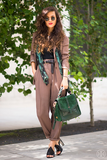 Street Style: Seeing Green | The Tory Blog