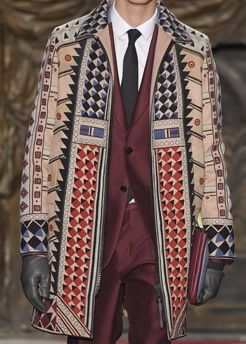 patternprints journal: PRINTS, PATTERNS AND TEXTILE SURFACES FROM PARIS CATWALKS (MENSWEAR F/W 2015/16) / 10