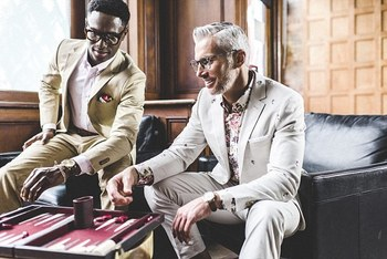Suit up! How to beat the heat this summer in a custom-made suit