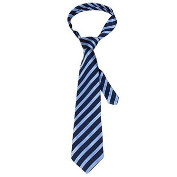 MINDENG New Men's Navy Blue Striped Silk Jacquard Woven Suits Tie Necktie Ties http://www.yournecktie