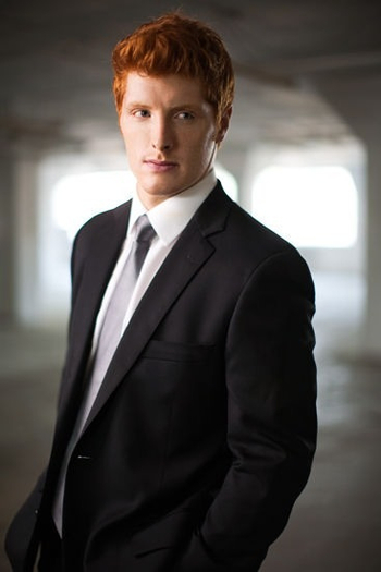 A GINGER MAN IN A SUIT?!?!?