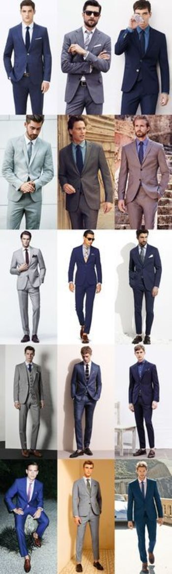 Men???s Summer Wedding Guide: How To Dress For A Summer Wedding for The City Wedding Lookbook Inspiration