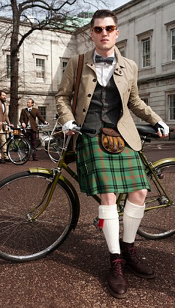 Tartan Kilt ~ Tweed London Run