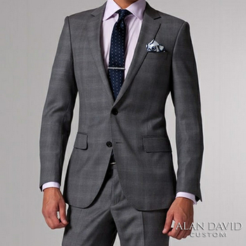 The sleeve of your suit jacket should show half an inch of the shirt cuff. If the sleeve passes your