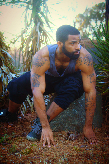 black male models DIOR HOMME VINTAGE HIP