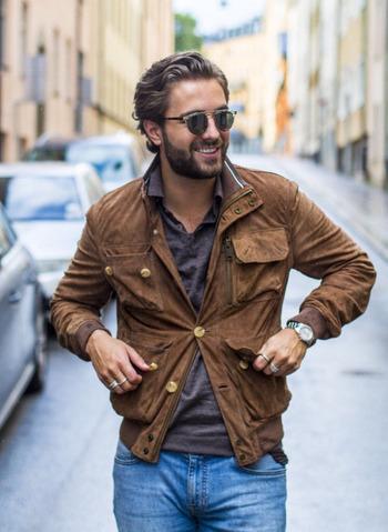 Men's Style - #jackets #sunglasses