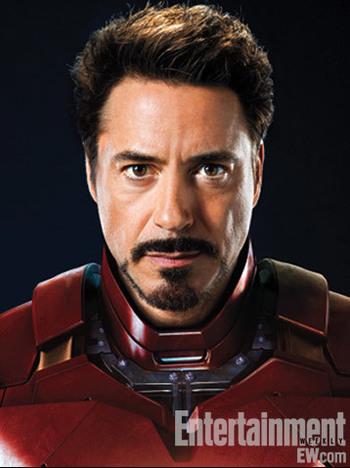 Character Headshots for Marvel's The Avengers