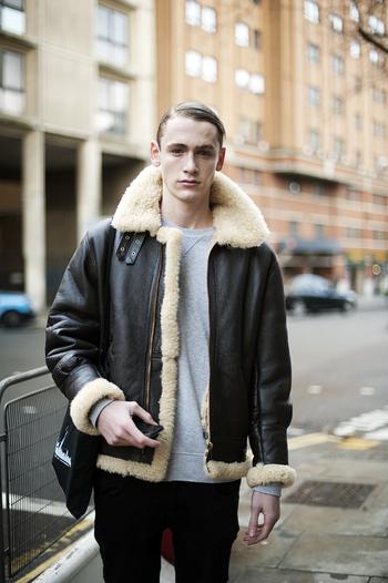 Lammy coat fashion men tumblr Style