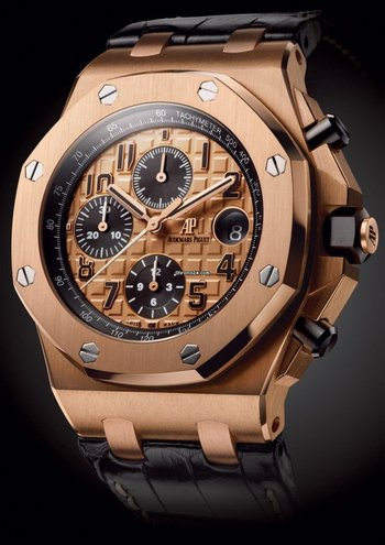 Audemars Piguet [NEW] Royal Oak Offshore Chronograph 26470OR Rose Gold (Retail:HK$319,000) - CNY Spec