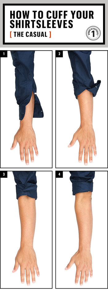 The Definitive Guide to Rolling Up Your Sleeves