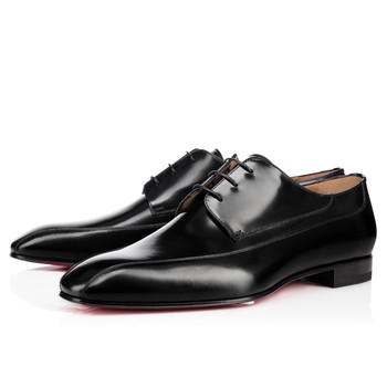 Orleaness Flat Black Leather