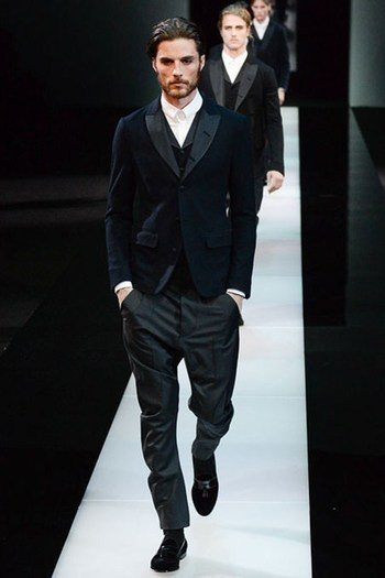 Giorgio Armani Autumn/Winter 2015-16 Menswear